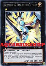 Yu-Gi-Oh! Numero 39 Radici dell'Utopia LVAL-IT048 Rara in ITA Zexal Roots Number