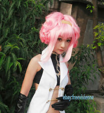 Code Geass Lelouch of the Rebellion Anya Alstreim Cosplay Full hair+wig cap