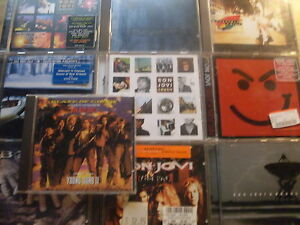 Bon Jovi [10 CD Alben] New Jersey + SAME + These + Crush + Wild Night + Bounce