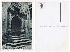 Pk035 Vintage Postcard ROTHENBURG O.D. TAUBER Town Hall Portal Bavaria SW from 1945