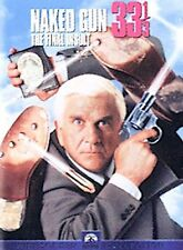 The Naked Gun 33 1/3: The Final Insult (DVD, 2000, Sensormatic - Widescreen)