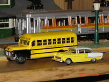 Rare Diecast 1956 Chevy School Bus, Nicely Detailed, New Unopened