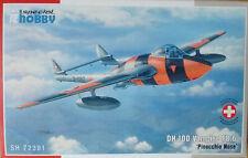Special Hobby 1/72 SH72391 DH100 Vampire FB.Mk.6 'Pinocchio Nose' Model Kit