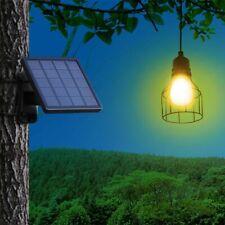 Solar Light Outdoor Garden Hanging Lamp Led Bulb Pendant Lampshade Home Lighting