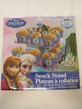 Disney's Frozen Snack Stand Displays 16 Baked Treats/Cupcakes BRAND NEW!