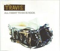 Travis - All I Wanna Do Is Rock 1997 CD single