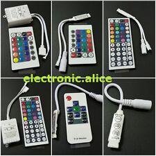 3528 5050 LED Strip Mini 3/24/44 Key IR RGB Remote Controller led RGB controller