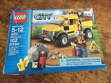 LEGO CITY MINING 4x4 LOADER DUMP TRUCK 4200 - 100% Complete with Manual and Box