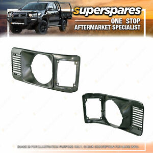 Superspares Left Headlight Case for Toyota Liteace KM20 02/1980-12/1982