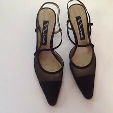 Nina Sarika Fabric Slingback Pumps, 9M, Worn 3 Times, Excellent Condition In Box