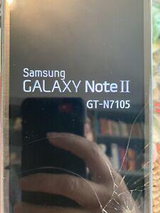 Samsung Galaxy Note II GT-N7105 - 16GB - Ceramic Black Smartphone