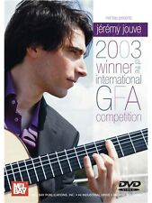 Jeremy Jouve 2003 Winner of the International GFA Competition GUITAR MUSIC DVD