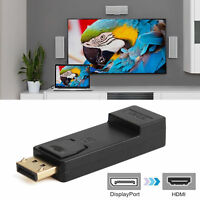 Display Port for HDMI Male Female Adapter Converter DisplayPort DP to HDMI1080 L