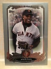 2013 Topps Series 2 The Elite TE-15 Willie Mays New York Giants
