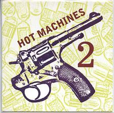 "HOT MACHINES 2 'Microphone / Can't Feel 7"" White Mystery Alex Ponys vee dee PUNK"