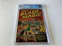 BLACK MAGIC 2 CGC 4.5 PRE CODE HORROR JACK KIRBY JOE SIMON PRIZE COMICS 1951