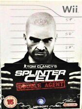 NINTENDO WII GAME TOM CLANCY'S SPLINTER CELL DOUBLE AGENT UBISOFT PAL