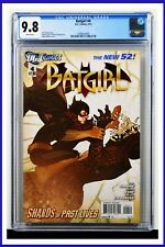 Batgirl #4 CGC Graded 9.8 DC February 2013 White Pages Comic Book
