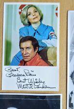 More details for barbara bain martin landau space 1999 mission impossible autographs show promoti