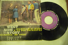 "GIANFRANCO INTRA""WEST SIDE STORY-disco 45 giri BLUEBELL It 1963"" OST"