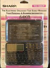 Sharp YO-120CP Electronic Organizer 64KB Brand-new Still In Package