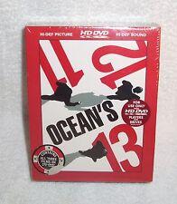 OCEAN'S 11, 12, 13 - (3) HD DVD BOX SET - GEORGE CLOONEY New Factory Sealed Set