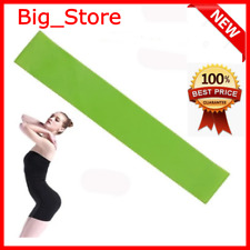 Rubber Full Loop For Yoga Sports Fitness Elastic Green Expander Resistance Bands