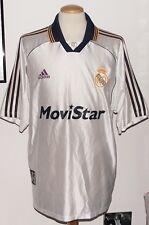 VINTAGE REAL MADRID 1999 ADIDAS MATCH WORN B TEAM SHIRT No.17 XL SPAIN CAMISETA