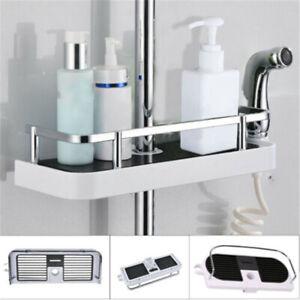 Shower Hanging Storage Rack Bath Organiser Bathroom Caddy Tray Holder Tidy Shelf