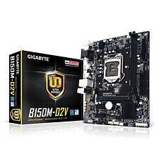 Gigabyte GA-B150M-D2V LGA 1151 Intel B150 USB 3.0 Micro ATX Intel Motherboard