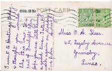 Genealogy Postcard - Family History - Keer - Grimsby - Lincoln   U2387