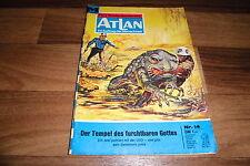 ATLAN  # 14 -- TEMPEL des FURCHTBAREN GOTTES // Perry Rhodan / 1. Auflage 1970