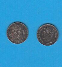 Gertbrolen Charles X 1/4 de Franc argent  1826 Paris