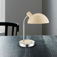 Wofi Action Lampe de table lanett 1-FLG Ivoire Interrupteur bras flexible E14