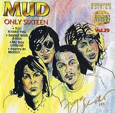 ♫♫ MUD Only Sixteen Glamrock 18 Tracks CD new & orig. box Cosmus DSB