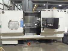 """Hitachi Seiki Hicell 40, Cnc Lathe W/ Live Tooling, Y Axis, 90 Atc, 60"""" Centers"""