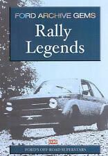 FORD ARCHIVE GEMS RALLY LEGENDS DVD. 68 Mins. FORD ESCORT MK1 & 2. DUKE 3974NV