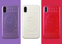 Bape Phone Case Cover For iPhone X 8 7 Plus 6 6S A Bathing Ape Shimmer Powder