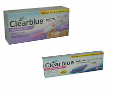 20 Clearblue Digital Ovulation Tests +2 Clearblue Digital Pregnancy Testing Kits