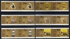 Portugal sc# 1567-1572 (1983) 17th European Exhibition full set in pair OG MNH**