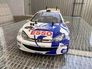 Tamiya RC Model Car Peugeot 206 WRC