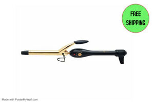 Gold 'N Hot Professional Spring-Grip Curling Iron, 3/4 Inch