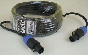 10 m Lautsprecherkabel 2 x 1,5 mm² Speakon kompatibel PA Kabel Speakerkabel NEU