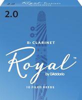 D'Addario Royal (Rico) Clarinet Reed Bb (B - Flat) 2.0