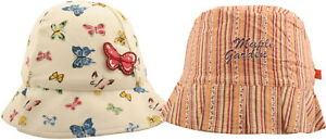 Ex-Store Baby Girls Summer Cotton Blend Bucket Style Hats