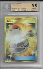 BGS 9.5 2017 Pokemon Sun & Moon 160/149 Trainer Switch SCR