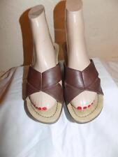 Dansko Brown Leather Slides  Sandals  Shoe Size 36  (US 5-5.5 )