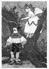 Edward Gorey poster GEORGES BUMBY macabre goth wall art 1979 print