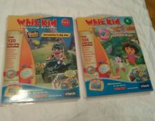 VTech Whiz-Kid Dora the Explorer and Bob the Builder NEW PreK-K Learning System