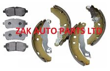 FOR FORD FIESTA MK7 (08-13) 1.25 1.4 1.6 & TDCi  FRONT BRAKE PADS & REAR SHOES